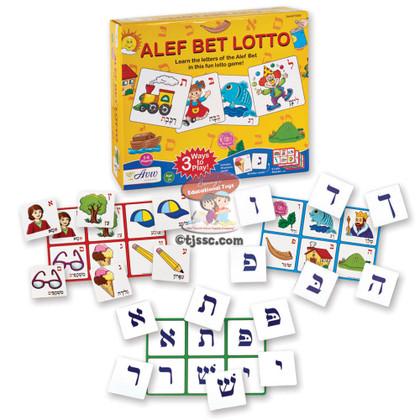 Lotto Aleph Bet (Hebrew Alphabet)