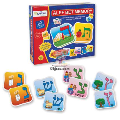 Aleph Bet (Hebrew Alphabet) Memory
