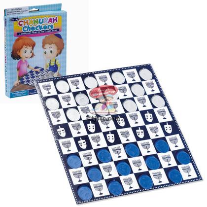 Hanukkah Checkers Game