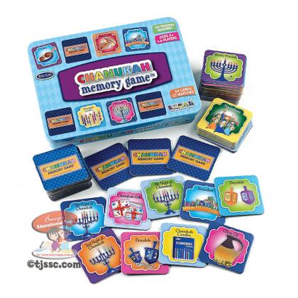 Hanukkah Memory Game in Tin Box