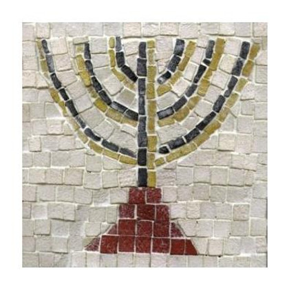 Menorah Complete Mosaic Project Kits