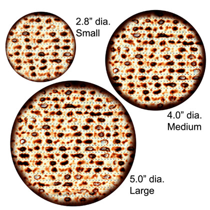Medium Round Matzah Cutouts