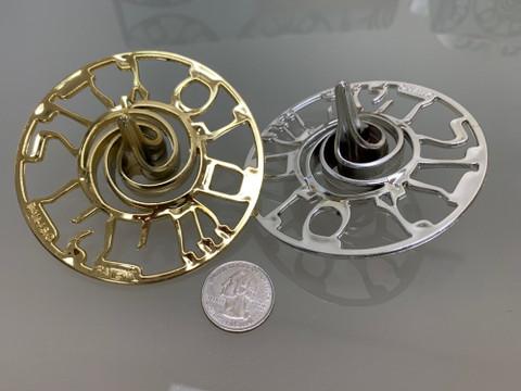 Chanukah Dreidel Spinners Golden