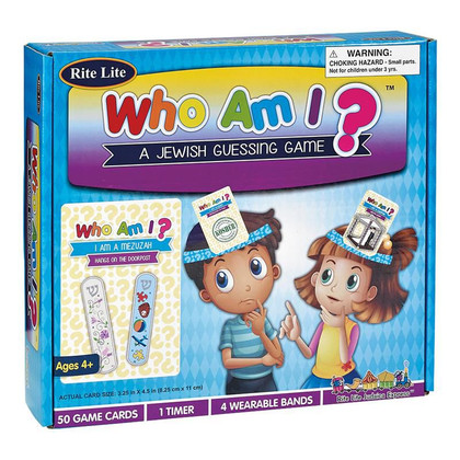 Who Am I? Jewish Guessing Game