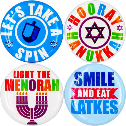 Hanukkah Mini Buttons