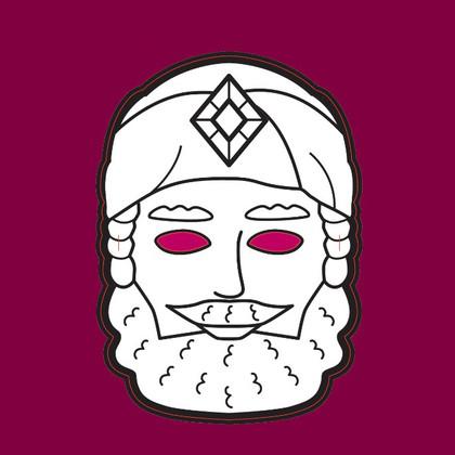 Make-Your-Own Mordechai Purim Mask