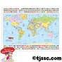 Capsulated World Map Placemat