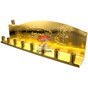 Gold Chanukah Tin Menorah
