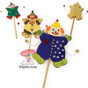 Purim Clown Gragger Arts and Craft Project for decoration