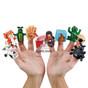10 Plagues Finger Puppets Soft Plastic