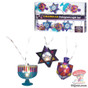 Chanukah Hologram Light Set. Hanukkah Decroation & Hanukkah Décor.
