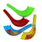 """6.5"""" Quality Plastic Toy Shofar - with Embeded Noisemaker"""