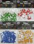 Hebrew Alef Bet 3D Foam Stickers