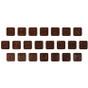 Alef Beis Mini Chocolates open
