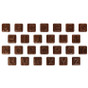 ABC Mini Chocolates - Cholov Yisroel - NUT-FREE Belgium Milk Chocolate