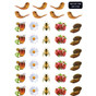 Rosh HaSHana Symbol Stickers - 1 Sheet