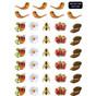 Rosh HaShana Symbols Stickers - 390 in Pack