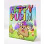 Happy Purim UPVC Gift Bag Smiley Hamentashen