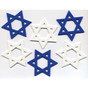 Large Die-Cut Star of David Foam Shapes