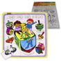 DIY Chanukah Dreidels Inlay Puzzle for Decoration