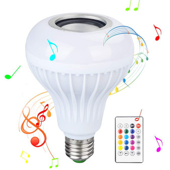 Dr. Prepare LED Music Bulb Color-Changing Wireless Lamp