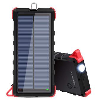 Dr. Prepare 20000mAh Portable Solar Power Bank