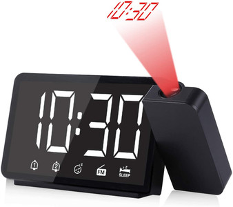 "5"" Projection Alarm Clock with FM Radio"