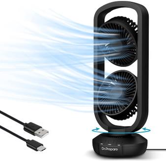 """15"""" Portable USB Desk Fan"""
