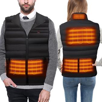 Unisex Heated Vest with 6 Heating Zones for Men Women