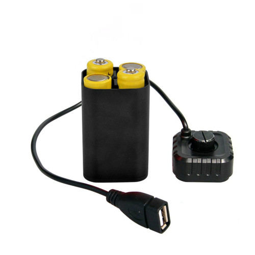 Dr. Prepare Waterproof Battery Pack Box Safety Case with USB Interface