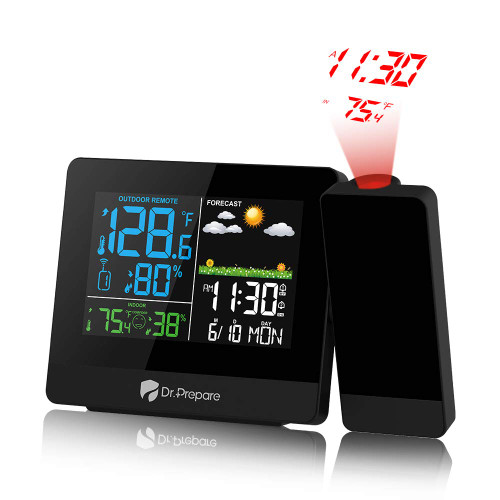 Dr. Prepare Projection Alarm Clock - 003