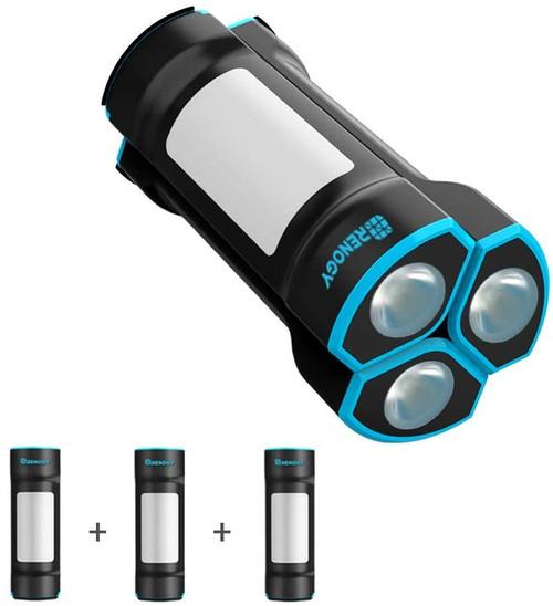 LED Magnetic Waterproof Rechargable Flashlight