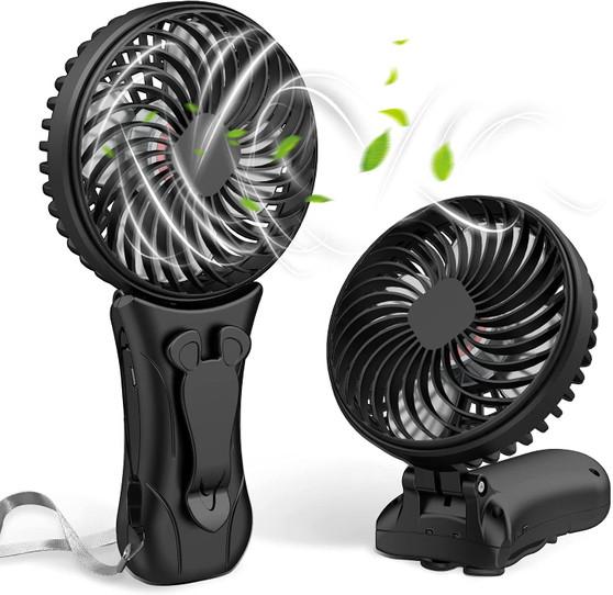 Portable Mini Personal Waist Clip-on Fan