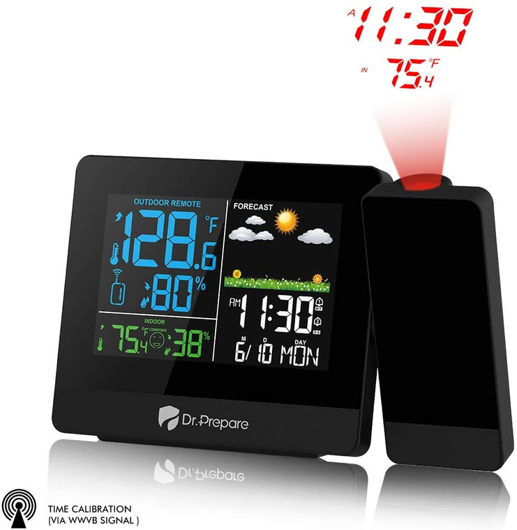 Projection Alarm Clock 004