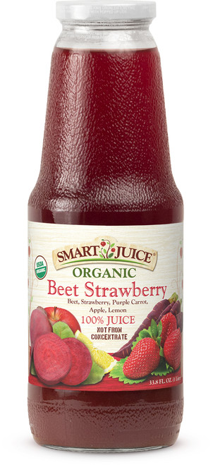 Smart Juice Beet-Strawberry front