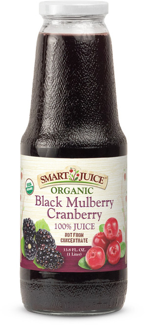 Smart Juice Black Mulberry-Cranberry Front