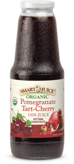 Smart Juice Pomegranate-Tart Cherry Front