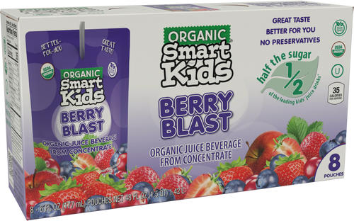 Smart Kids Berry Blast Pouch Box