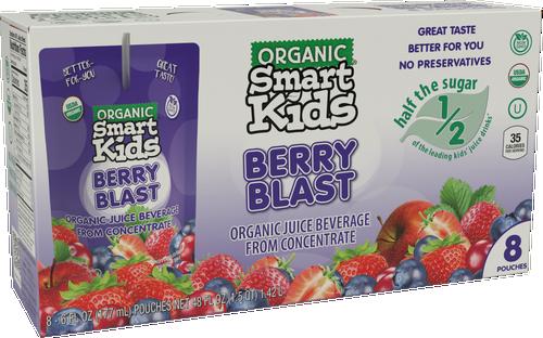 Smart Kids Berry Blast Pouch Box