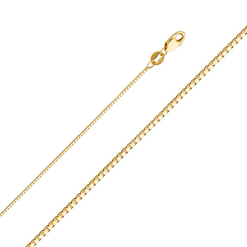 14K (SOLID) 1MM Box Chain