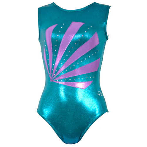 Oval Sunrise Leotard Front