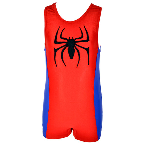 Boy's Spiderman Unitard Front