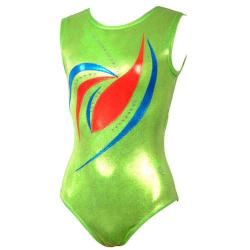 Spiral Galaxy #1 Leotard Front