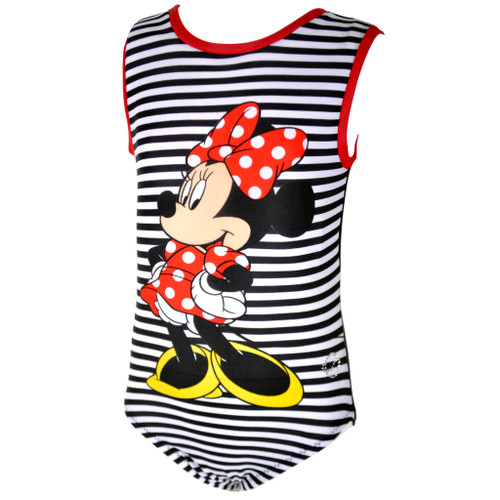 Minnie Mouse Gymnastics Leotard Front