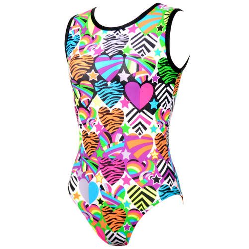 Galaxy #1H Gymnastics Leotard Front Left