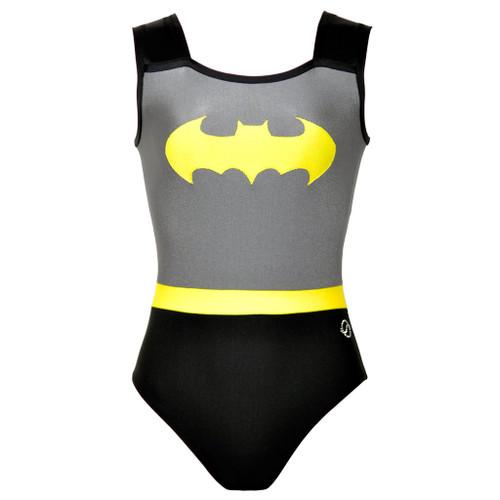 Batgirl Gymnastics Leotard Front