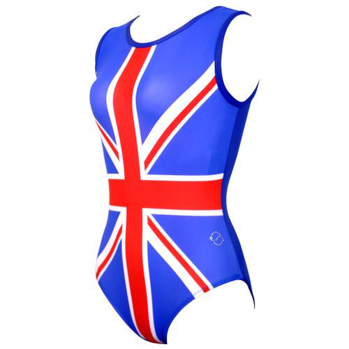 OK UK Gymnastics Leotard Front Left