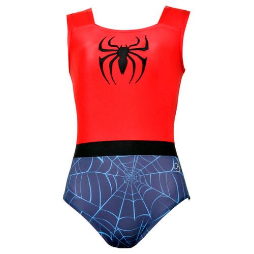 Spider Gymnast Leotard Front