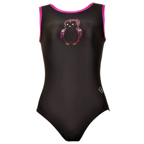 Penguin #1 Gymnastics Leotard Front
