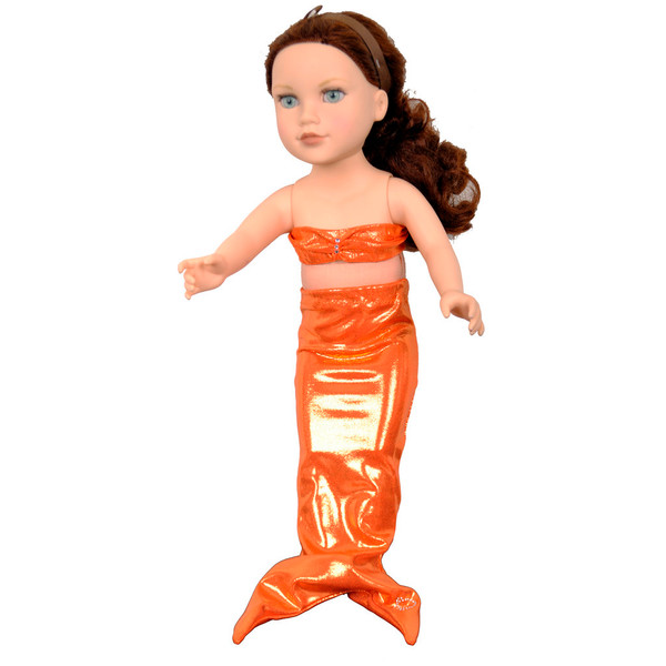 """Mermaid tail for all 18"""" dolls"""